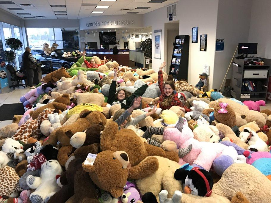 Lambton Ford Teddy Bear Toss