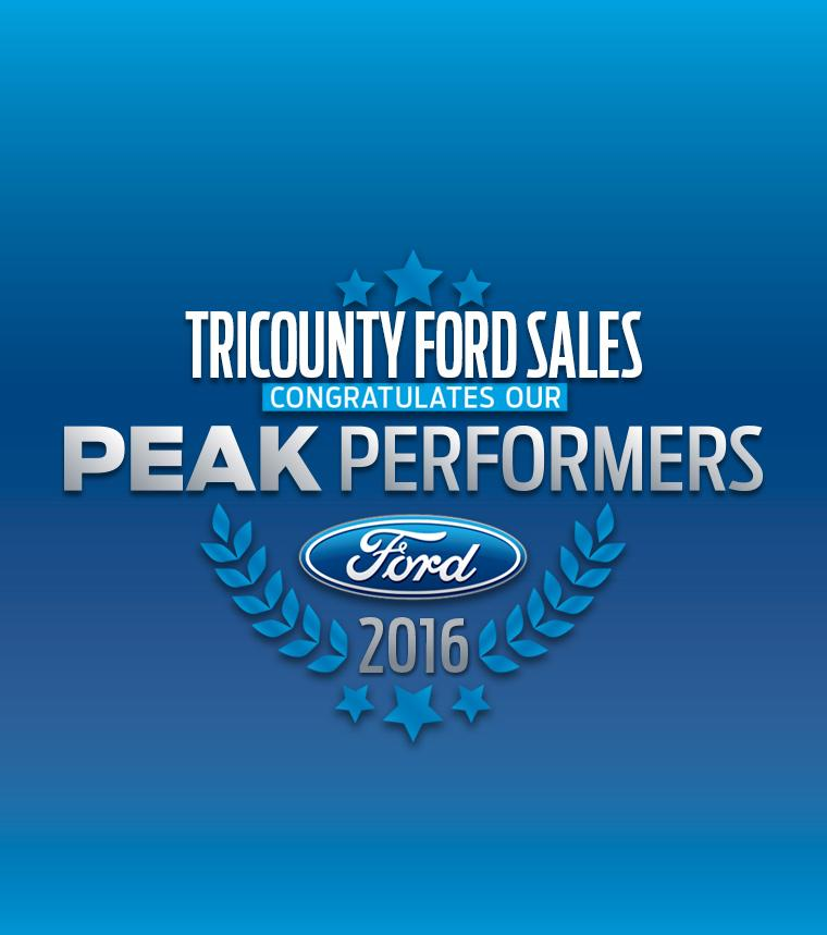 Tri County Ford Sales - Peak Performer