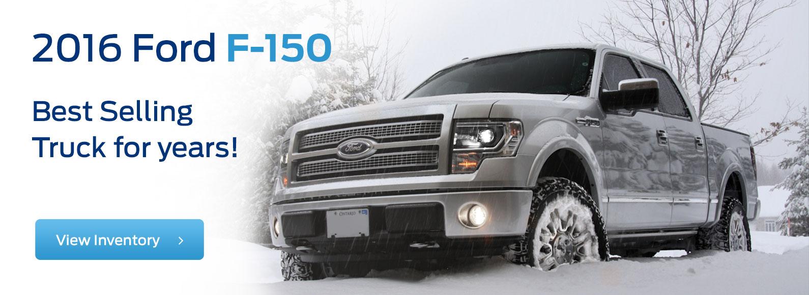 2016 F-150 Best Selling Truck Desktop
