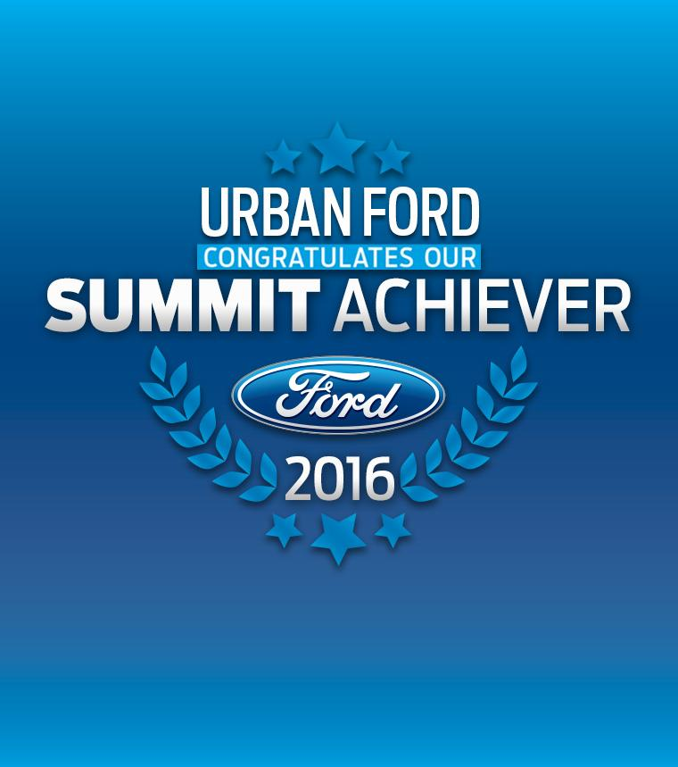 Urban Ford - Summit Achiever