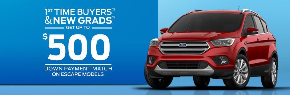 Ford graduate discount rebate grad first time buyer rebate kanata