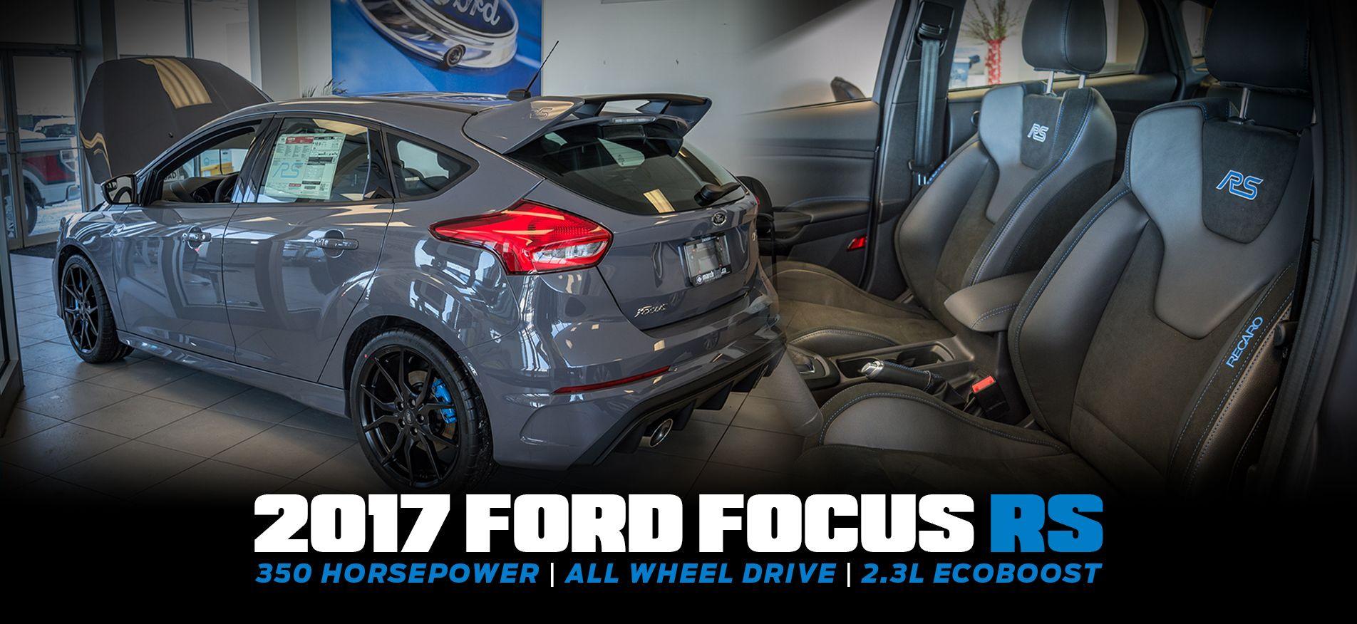 ford focus rs ottawa 2017 2016