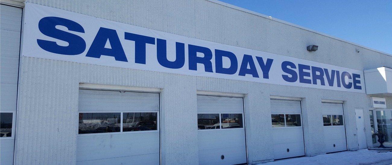 ford parts service open saturday kanata