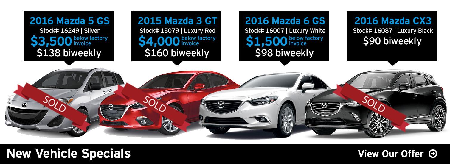 Fredericton Mazda - Jan Offer