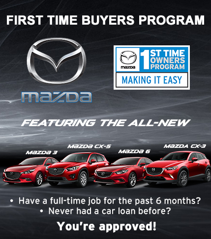 Fredericton Mazda - First Time Buyer