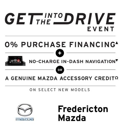 Frederiction Mazda - Get into the Drive Event
