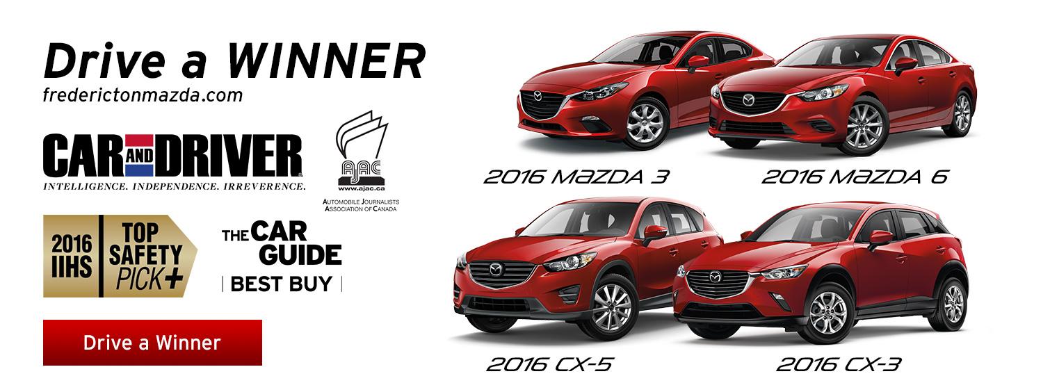 Fredericton Mazda - Drive a Winner
