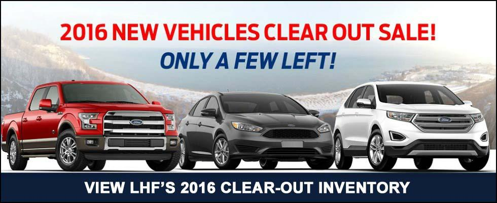 2016 Clear-Out at Lincoln Heights Ford