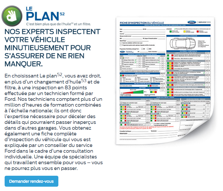 Le Plan Paquin Ford