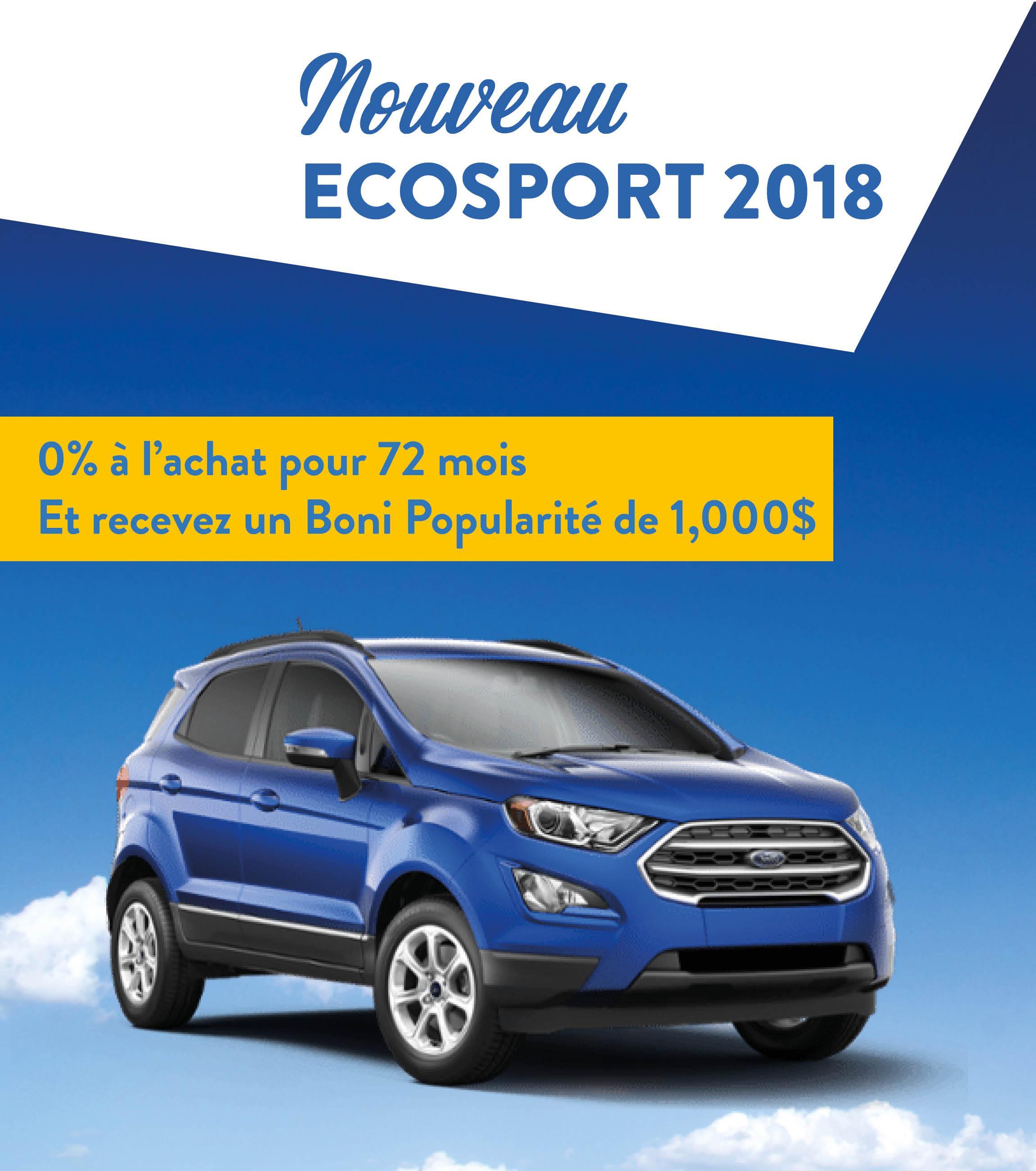 Nouveau Ecosport