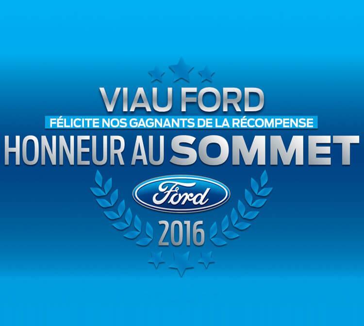 Honneur Sommet Viau Ford