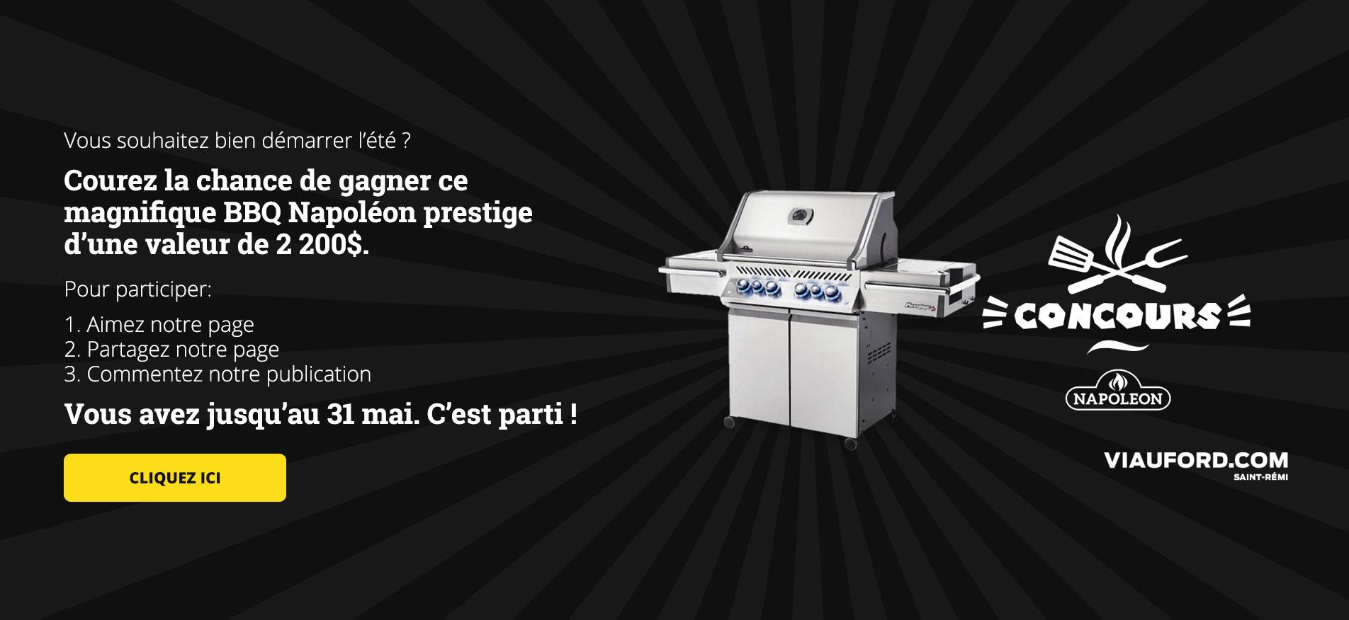 Barbecue Viau Ford Concours