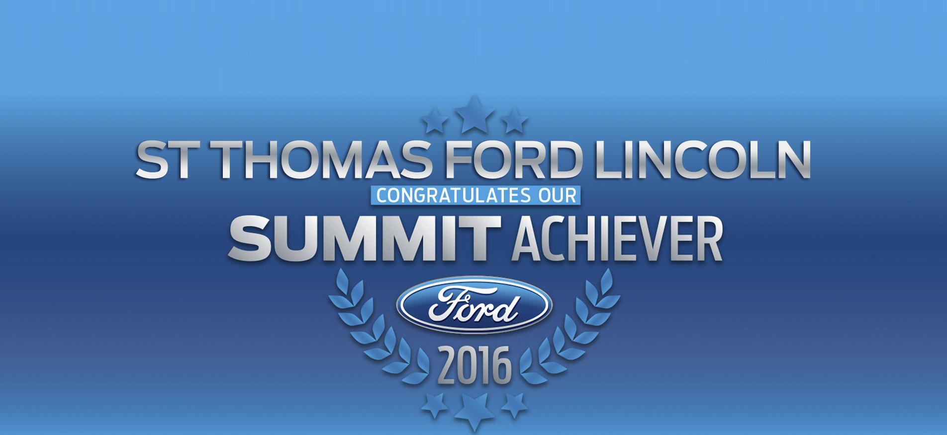 Summit St Thomas Ford