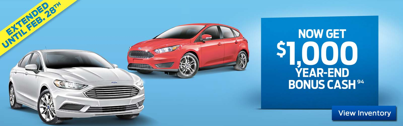 End of the year deals at Highbury Ford.