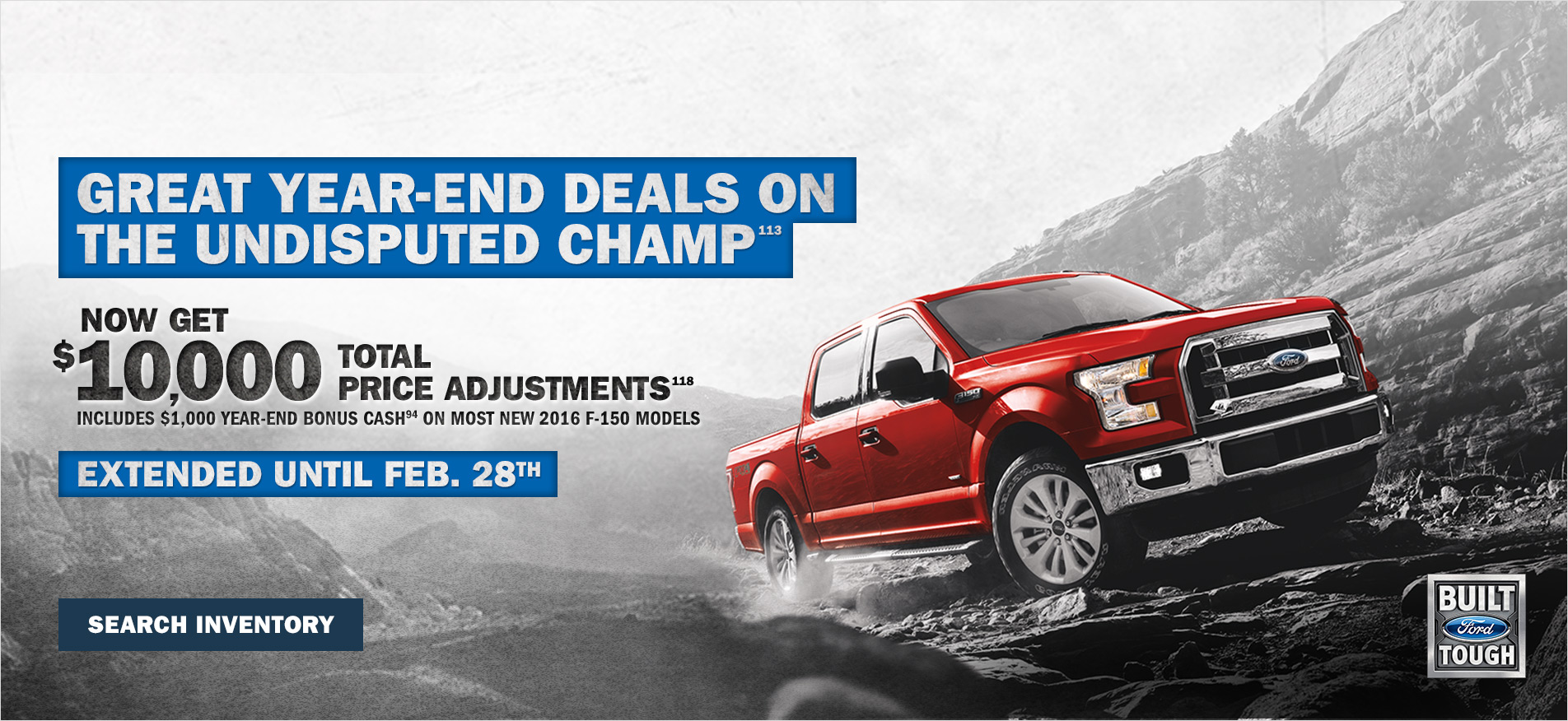 F-150 end year offer
