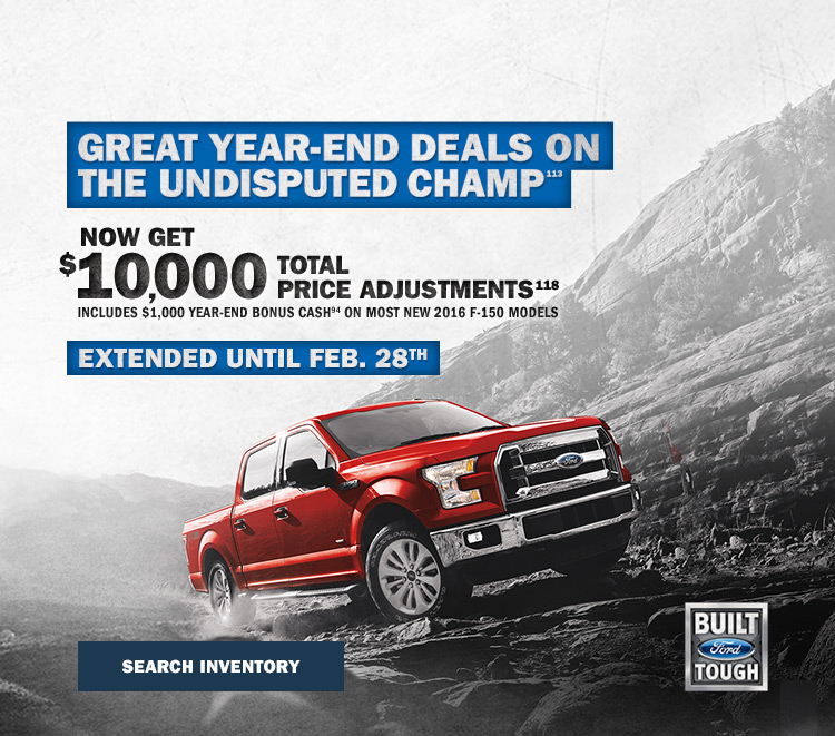 F-150 year end offer