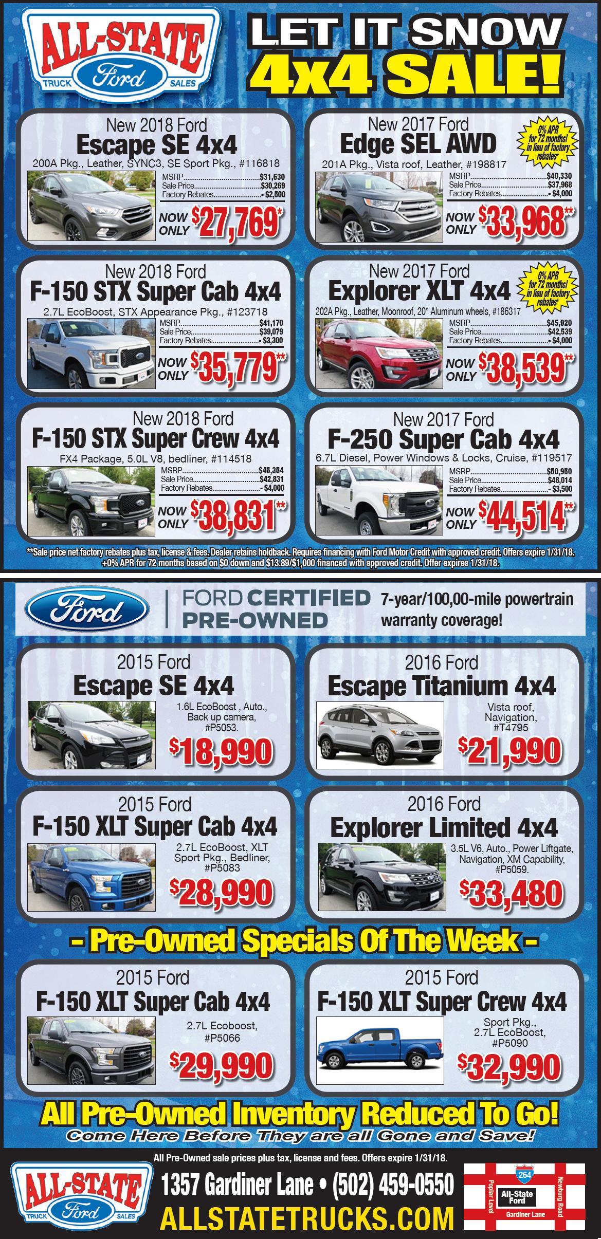 Sales Special