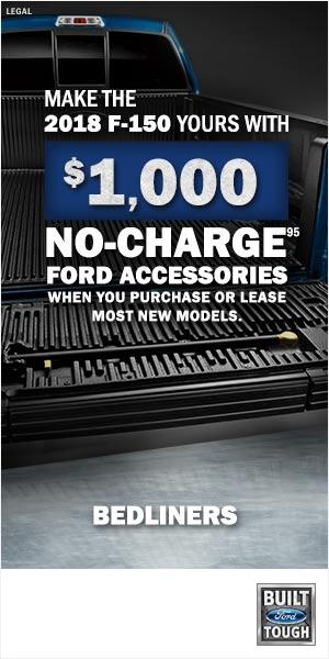 $1,000 No Charge Ford Accessories F-150 SuperDuty