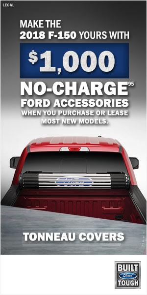$1000 No Charge Ford Accessories