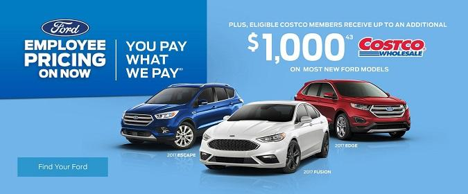 Ford Employee Pricing is back at Lincoln Heights Ford