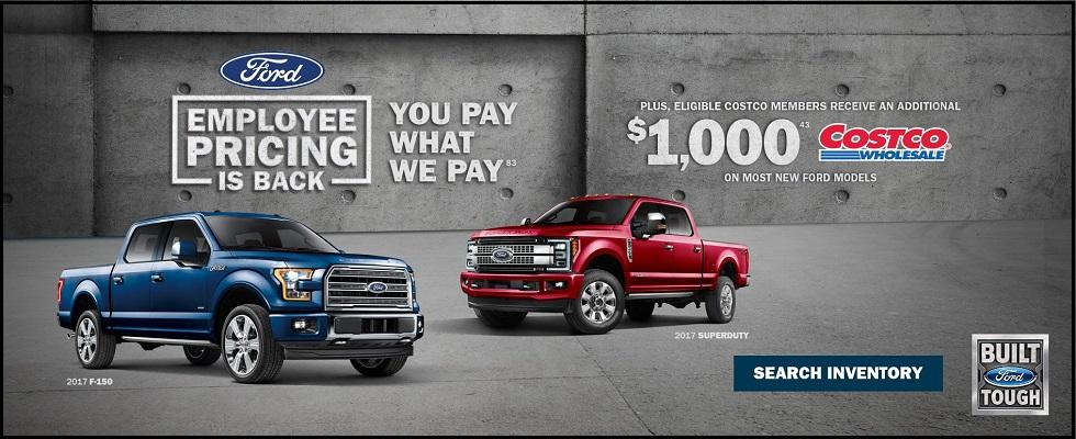 Employee Pricing is back at Lincoln Heights Ford