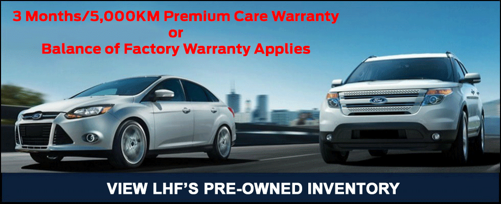 LHF Pre-Owned Vehicles