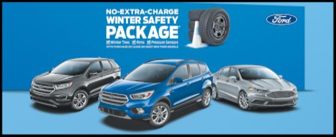 No-Extra-Charge Winter Safety Package at Lincoln Heights Ford