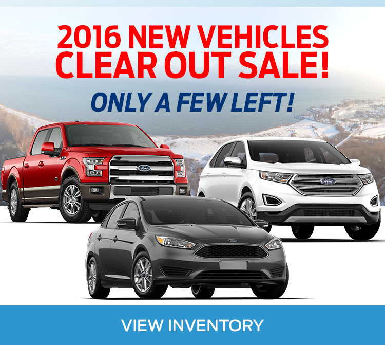 Lincoln Heights Ford 2016 New Vehicles Clearout in Ottawa Ontario