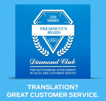 2016 President's Award Diamond Club