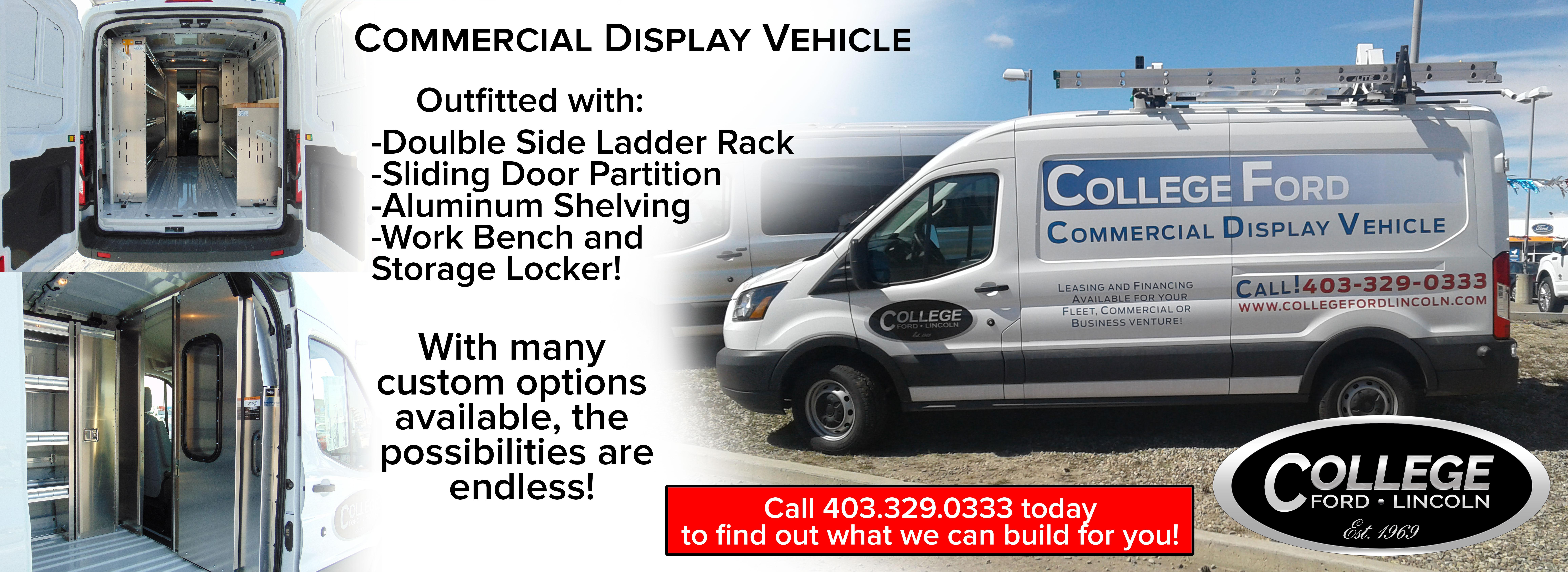 Commercial Display Vehicle