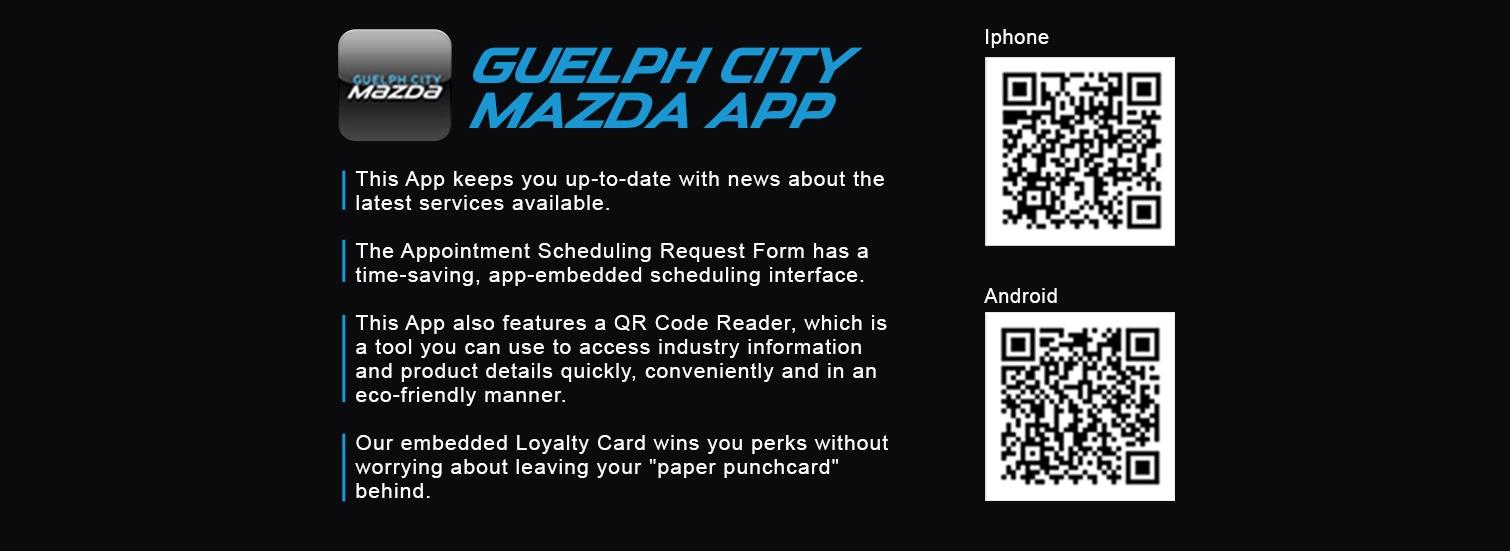 Guelph City Mazda - Mazda App