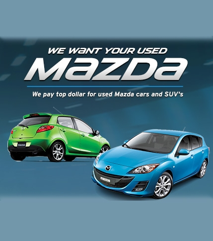 Guelph City Mazda - We Want Your Used Mazda