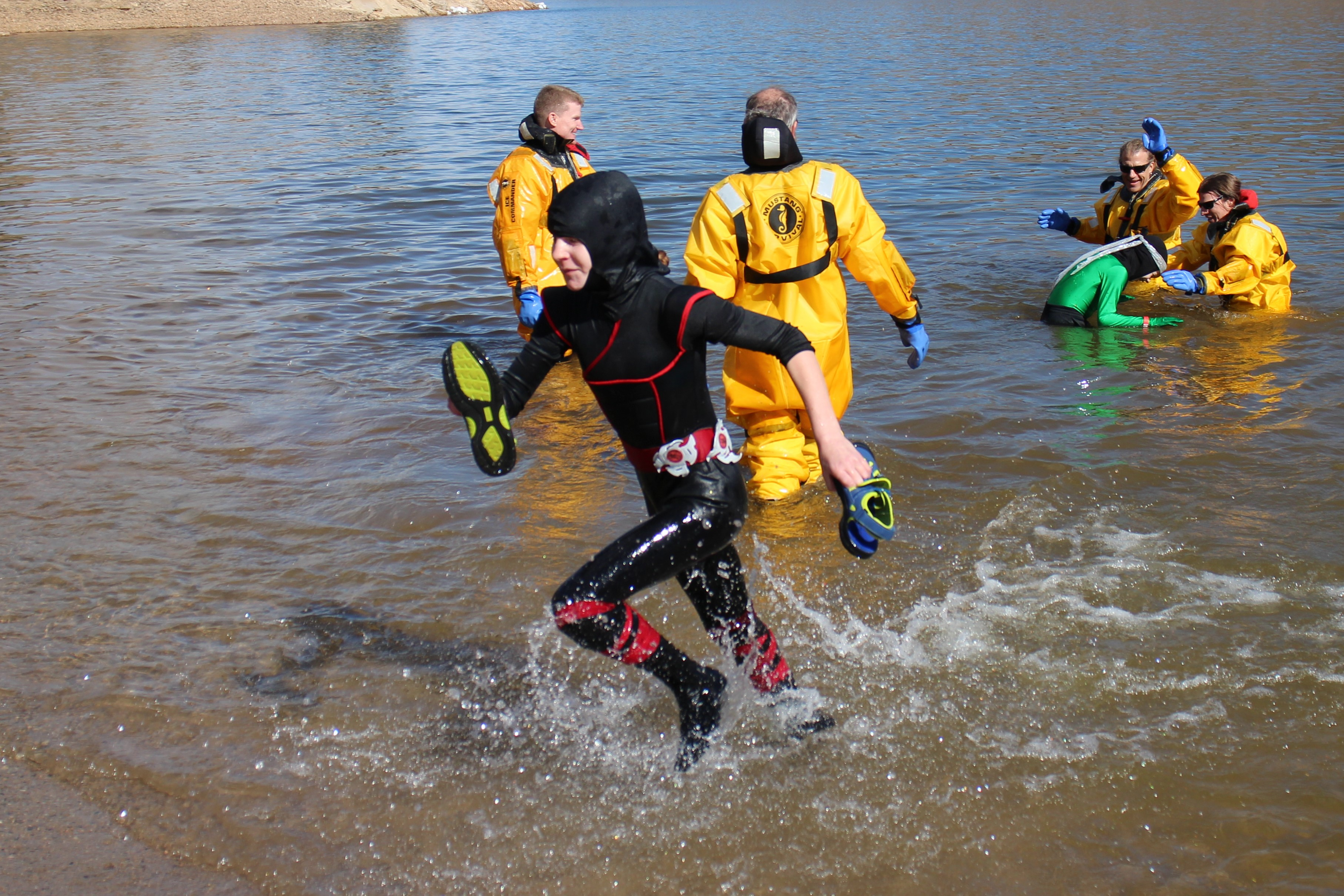 Polar Plunge Fort Collins Horsetooth