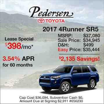 2016 Toyota 4Runner Special