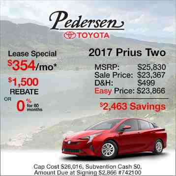 2016 Toyota Prius Two Special