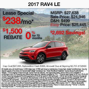 2017 Toyota RAV-4 Special