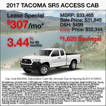 2017 Toyota Tacoma Special
