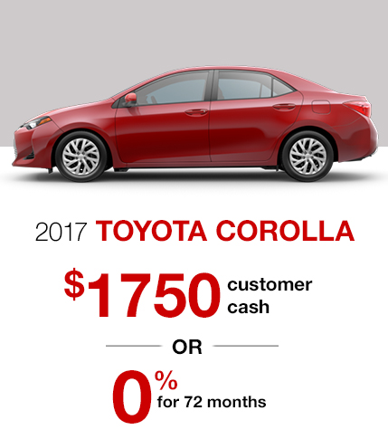 2017 Toyota Corolla Special