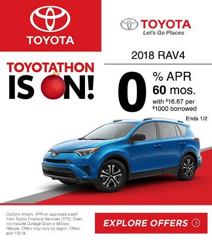 2018 Toyota RAV4 Lease Special