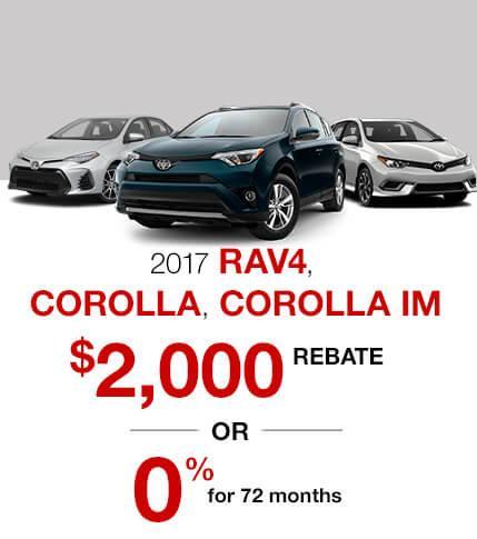 2017 Toyota Specials