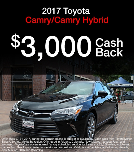 2017 Toyota Camry Special