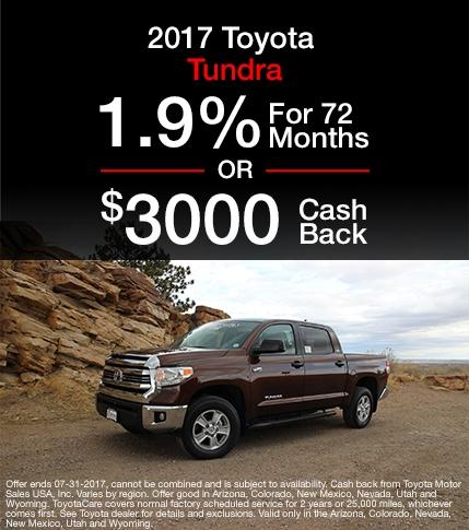 2017 Toyota Tundra Special