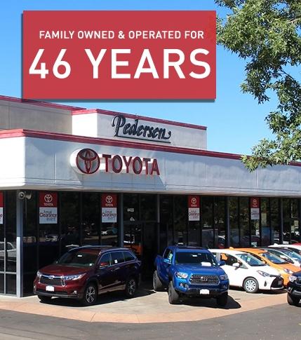 Pedersen Toyota Family Owned