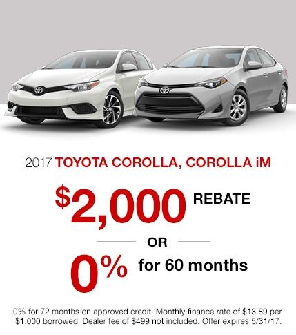 2017 Toyota Corolla Special