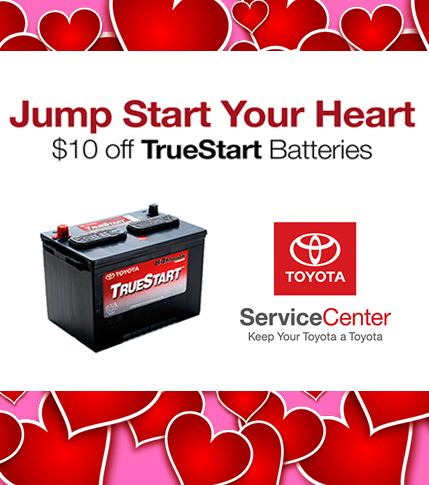 $10 Off TrueStart Batteries in February!