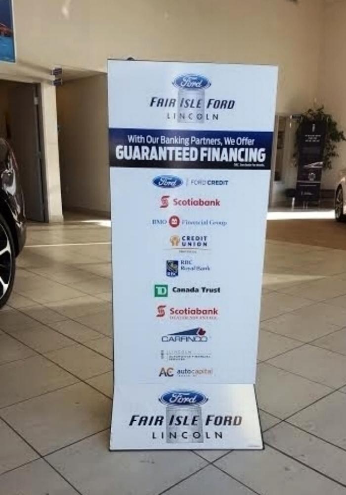 Appliquez pour Financement