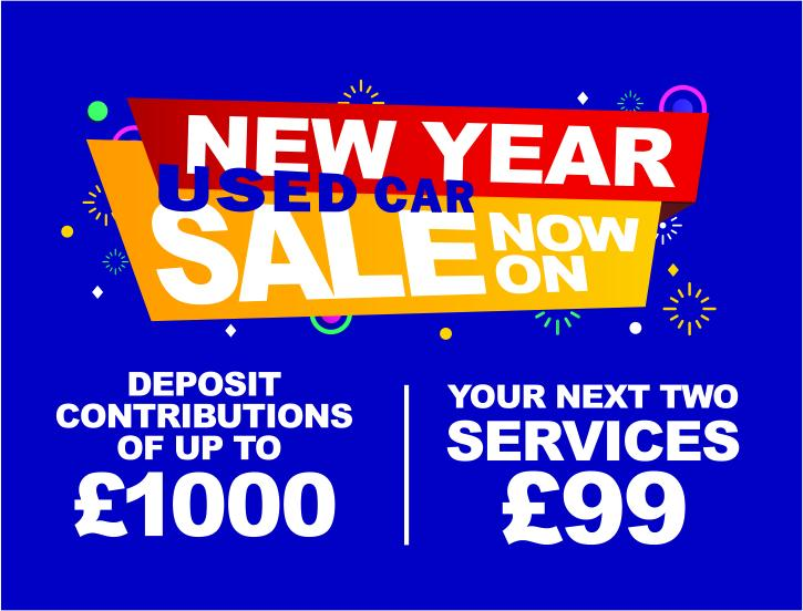 Mobile Banner - used car promo