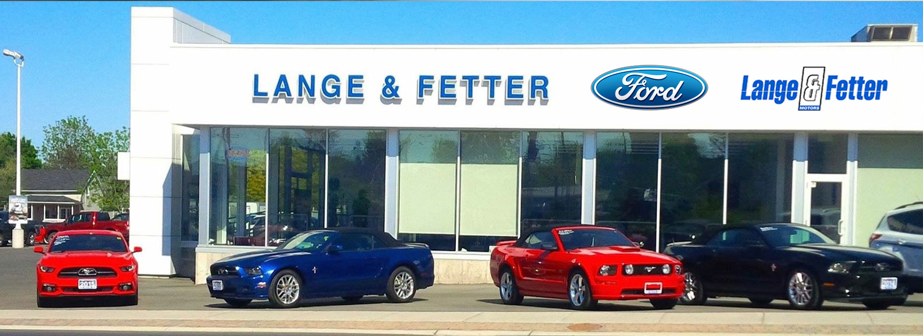 ford dealership in trenton on lange fetter motors. Black Bedroom Furniture Sets. Home Design Ideas