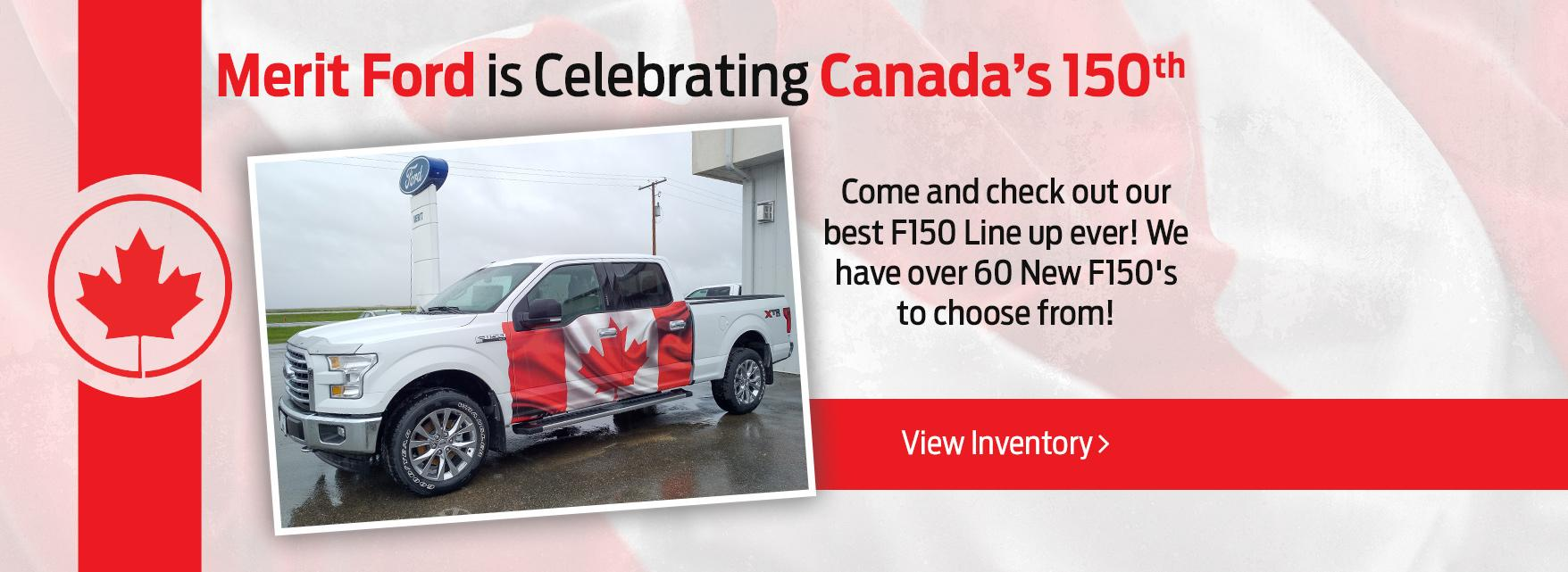 Canada 150 offer