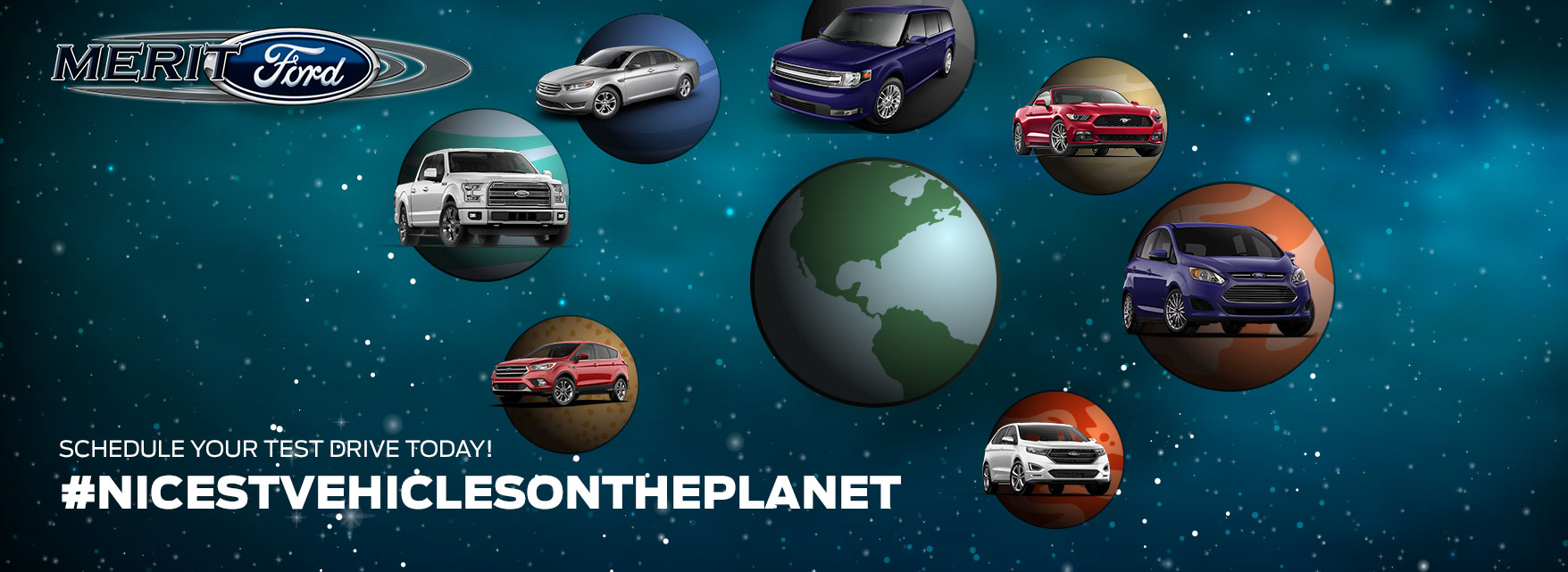 New vehicles on the planet